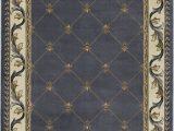 Large Fleur De Lis area Rugs Kas Corinthian 5320 Blue Fleur De Lis area Rug