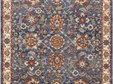 Large Half Moon area Rugs Nourison Lagos Lag04 Blue Multicolor 10×13 Oversized Low