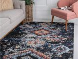 Large Navy Blue area Rug Navy Blue 9 X 12 Morocco Rug Rugs