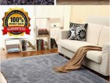 Large Non Slip area Rugs Maxyoyo 3 5 Cm Height solid Color Fluffy Shaggy area