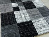 Large Off White area Rugs Black Silver Grey Off White Mottled Small Medium Xx Large Rug New Modern soft Thick Carved Carpet Non Shed Runner Bedroom Living Room area Rug Mat