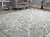 Large Off White area Rugs Grey F White Small Extra soft Thick Trellis Shaggy Floor Mat Rugs Cheap