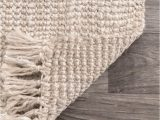 Large Off White area Rugs Maui Chunky Loop F White Rug In 2020