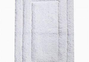 "Large Plush Bathroom Rugs Chardin Home Classic Bath Rug 27""x45"" White 100"