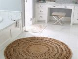 Large Round Bath Rugs the Round Jute Rug that Looks Good Everywhere the