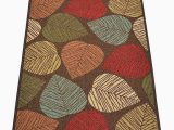 Large Rubber Backed area Rugs Deeley Floral Tufted Brown Gray Cream area Rug