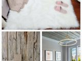 Large White Fur area Rug Faux Fur area Rug Hairy Shaggy Rug White Faux