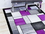 Lavender and Gray area Rug Details About Rugs area Rugs Carpet 5×7 Rug Modern Living Room Large Grey Purple Gray 5×7 Rugs
