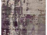 Lavender and Gray area Rug Matcha Handmade Abstract Gray Purple area Rug 2 X3