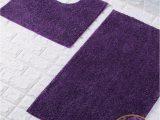 Lavender Bathroom Rug Sets Goldstar Purple Shiny Sparkling 2 Piece Bath Mat and