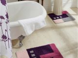 Lavender Bathroom Rug Sets Obsession Purple & Pink Set Of 2 Rectangular Bath Rugs