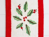 Lenox Christmas Bath Rug Amazon Lenox Holiday Bath Rug Home & Kitchen