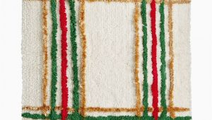 "Lenox Holiday Nouveau Bath Rug Lenox Holiday Nouveau Plaid 20"" X 20"" Bath Rug"