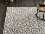 Leopard Print area Rug Target Elderberry Animal Print Woven Rug