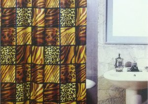 Leopard Print Bath Rugs 5pcs Bath Rug Set Leopard Print Bathroom Rug Shower Curtain