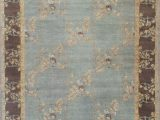 Light Blue and Brown area Rugs Stickley