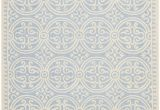 Light Blue and Cream Rug Beautiful Ivory Pale Blue All Over Pattern Rug