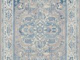 Light Blue and Grey area Rug Tayserugs Ambiance Blue area Rug