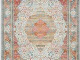 Light Blue and Pink area Rug Lonerock European orange Pink area Rug