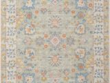 Light Blue and Pink area Rug Momeni Anatolia Ana 8 Light Blue area Rug