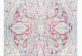 Light Blue and Pink Rug This Light Blue Rug with Pink Accents is Gorgeous and It S