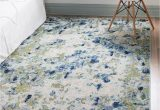 Light Blue area Rug 5×8 theia Light Blue 5×8 area Rug In 2020