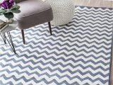 Light Blue Chevron Rug Nuloom Heidi Chevron area Rug 7 10 X 10 10 Light Blue