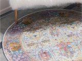Light Blue Circle Rug 8 4 X 8 4 Havana Round Rug