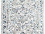 Light Blue Gray area Rug Romney oriental Light Blue Gray area Rug