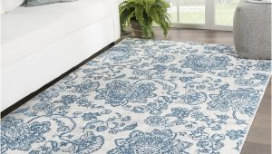 Light Blue Grey area Rug Shop Oberlin Paisley Blue Light Gray area Rug 76 X 9