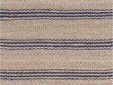 Light Blue Jute Rug Indigo Blue & Tan Striped Jute Rugs Dash & Albert Jute