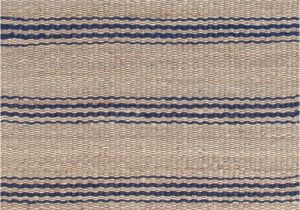 Light Blue Jute Rug Indigo Blue & Tan Striped Jute Rugs Dash & Albert Jute