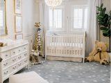 Light Blue Nursery Rug Hudsons Nursery Reveal
