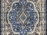 Light Blue Persian Rug Traditional oriental Persian Rug Light Blue Brown & Beige Design 520 4 Feet X 5 Feet 9 Inch