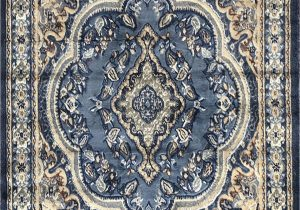 Light Blue Persian Rug Traditional oriental Persian Rug Light Blue Brown & Beige Design 520 4 Feet X 5 Feet 9 Inch