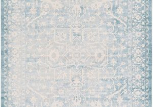 Light Blue Rug 9×12 Light Blue 9 X 12 New Vintage Rug area Rugs Esalerugs
