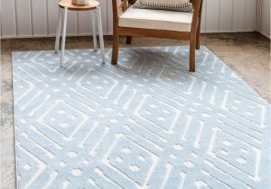 Light Blue Rug 9×12 Light Blue 9 X 12 Sabrina soto Outdoor Rug Rugs Com
