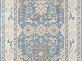 Light Blue Rug 9×12 Momeni Anatolia Wool and Nylon area Rug 99 X 126 Light Blue