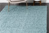Light Blue Shag area Rug Light Slate Blue solid Shag area Rug In 2020