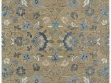 Light Brown area Rug 8×10 Kaleen Rugs Helena Hand Tufted area Rug Brown Light Blue 8 X 10