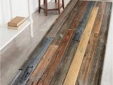 Light Brown Bath Rugs Joint Wood Board Pattern Floor area Rug Light Brown W24