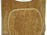 Light Brown Bathroom Rugs Amazon Homestyle 3 Piece Bath Rug Set Light Brown