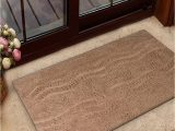 Light Brown Bathroom Rugs Light Brown Zigzag Bath Rug