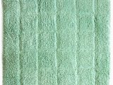 Light Green Bath Rug Cotton Bath Mat Light Green In Size 50cm X 75cm