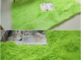 Light Green Bath Rug Light Green Army Green 160x230cm Anti Slip soft Fluffy