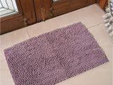 Light Purple Bath Rug Bath Mats In Microfiber for Bathroom Home Door Living or Bedroom by Avira Home Light Purple