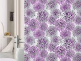 Light Purple Bath Rug Luxury Home Collection 15 Pc Bath Rug Set Printed Non Slip Bathroom Rug Mat and Rug Contour and Shower Curtain and Rings Hooks New Lilac Light