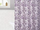 Light Purple Bath Rug Rodeo Floral 15 Piece Shower Curtain and Bath Rug Set In Lilac