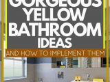 Light Yellow Bath Rug 17 Gorgeous Yellow Bathroom Ideas and How to Implement them