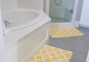 Light Yellow Bath Rug Girls Bathroom Decor the Sunny Side Up Blog